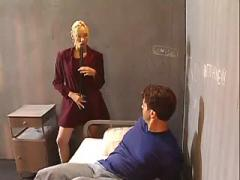 Hot blonde lawyer fucking in prison