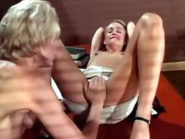 Lezzie student gets seduced by lezzie teacher