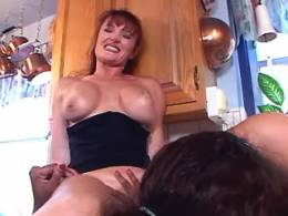 Two horny lezzies play with dildos
